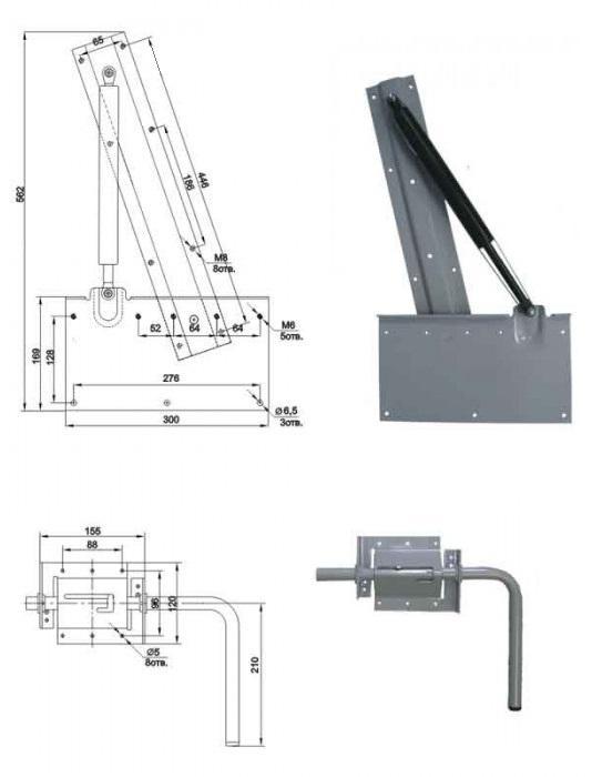 Механизм шкаф-кровать 582