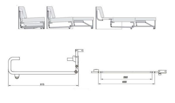 Механизм 558 размеры