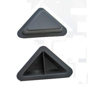 Опора пластиковая треугольная 25мм